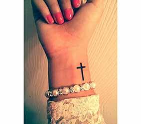 Tatouage poignet homme 1001 tatouage - Tatouage croix femme ...