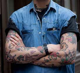 Tatouage Bras Homme Old School 1001 Tatouage Homme