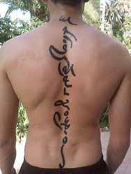 Tatouage colonne vertebrale homme 1001 tatouage homme - Tatouage colonne vertebrale ...