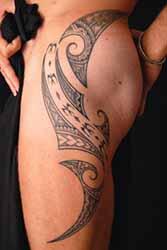 Tatouage Polynesien Cuisse Homme 1001 Tatouage Homme